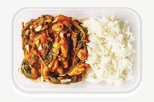 Chicken Madras with Almonds - 450