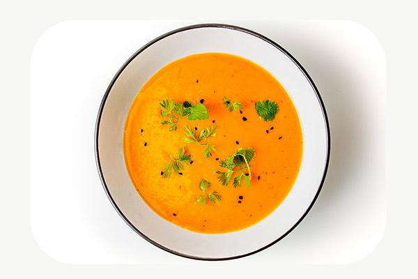 Curried Squash Soup - 450