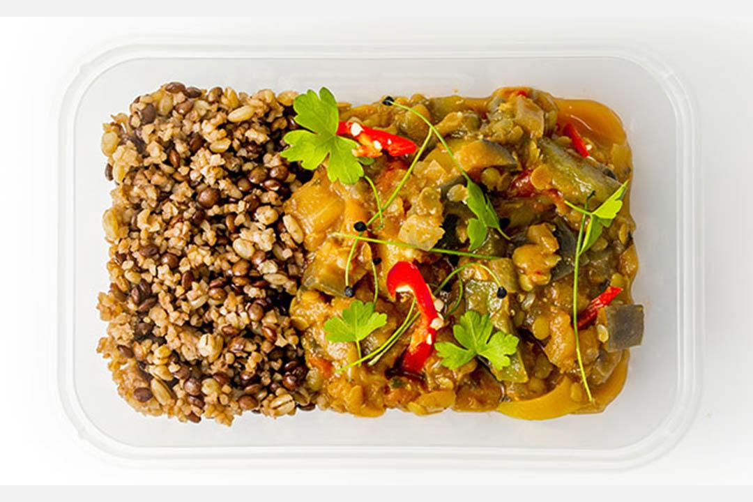 Red Lentil and Sweet Pepper Curry